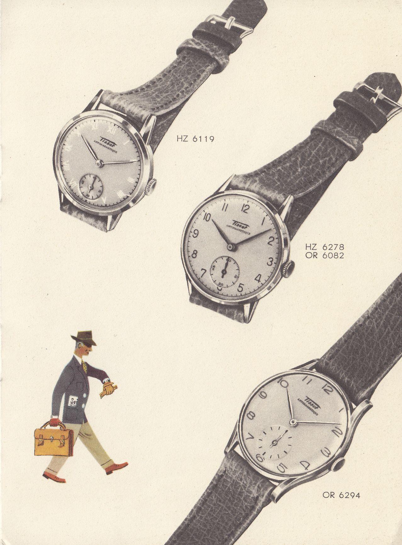 1943 - Tissot Catalogue